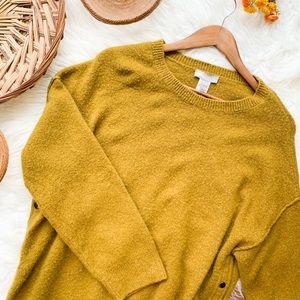 ASOS | Oversized Olive Sweater Size 8